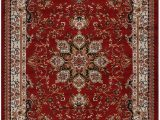 Burgundy and Blue area Rugs Nevita Collection isfahan Persian Traditional Design area Rug Dark Red Burgundy Also Available In Black Beige Blue Beige Red Colors Dark Red