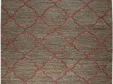 Burgundy and White area Rugs Amazon Rizzy Home Whittier Collection Jute area Rug 9