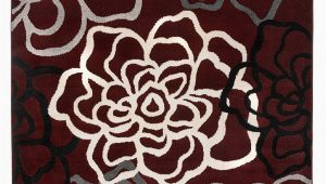 Burgundy and White area Rugs Floral Gray Grey Burgundy White area Rug – Modern Rugs and Decor