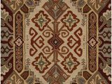 Burgundy and White area Rugs Rizzy Home Collection Wool area Rug 5 X 8 Multi F White Burgundy Light Blue Sage Rust Brown southwest Tribal