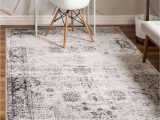 Buy now Pay Later area Rugs Unique Loom sofia Traditional area Rug 5 0 X 8 0 Gray