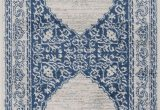 Caffey Navy Blue area Rug Youssoufia oriental Navy area Rug