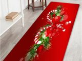 Candy Cane Bath Rug Christmas Candy Cane Pattern Indoor Outdoor area Rug
