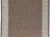 """Carpet Tacks for area Rugs Furnish My Place Design1113 Brown 3 3""""x5 Contemporary Geometric Durable area Rug for Indoor & Outdoor Washable Floor Mat Brown"""