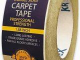 Carpet Tape for area Rugs Double Sided Carpet Tape 90ft 30yrd Roll Double Sided Tape Heavy Duty for Rugs Mats Pads & Runners Rug Tape for Hardwood Floors Tile Laminate 2