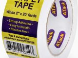 Carpet Tape for area Rugs On Carpet atack Carpet Tape for area Rugs and Carpets Removable 2 Inches X 20 Yards Ideal for Stair Treads Rugs Carpets Over Carpets or Delicate Hardwood