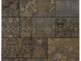 Charcoal and Tan area Rug oriental Weavers Heritage 1336h Charcoal Blue area Rug