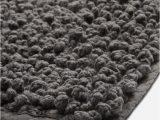 """Charcoal Grey Bath Rugs Waterworks Bramble Bath Rug 25"""" X 72"""" In Charcoal"""