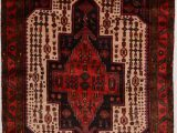 """Cheap 10 by 12 area Rugs Ghoochan Red Runner Hand Knotted 4 11"""" X 10 0"""" area Rug 100"""