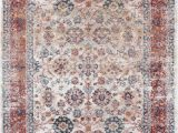 Cheap 5 by 7 area Rugs Luxe Weavers Ivory oriental 5×7 area Rug 7159