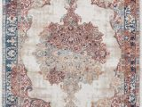 Cheap 8 by 10 area Rugs Luxe Weavers Ivory oriental 8×10 area Rug 7158