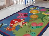 Cheap area Rugs for Classroom Kids Rug 5 X7 Animals Educational area Rug Colorful