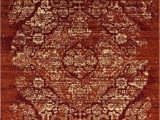 Cheap Large area Rugs 8×10 4620 Distressed Burgundy Rust 8×10 area Rug Carpet New