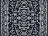 Cheap Navy Blue Rugs Lang oriental Navy Blue Gray Tan Ivory area Rug