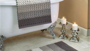 Chenille Bathroom Rug Sets 2 Pc Braided Chenille Bath Rug Sets