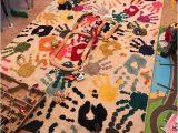 Children S area Rugs Walmart Nuloom Machine Made Pinkie Handprint Kids area Rug