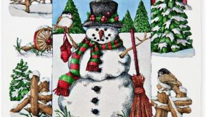 Christmas area Rugs 5 X 7 Amazon 5 X 7 area Rug Christmas Snowman and