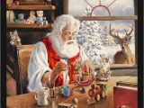 """Christmas area Rugs 5 X 7 Details About 5×8 Milliken Santa Gift Workshop Christmas area Rug Approx 5 4""""x7 8"""""""