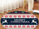 Christmas Bath Rugs for Sale Christmas Patterned Round Flannel Floor Rug