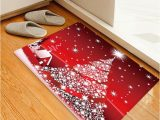 Christmas Bath Rugs for Sale Christmas Stars Tree House Pattern Water Absorption area Rug