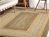 Chulmleigh Gray Natural area Rug Lr Home Classic Jute Gray Natural 8 Ft X 10 Ft Indoor