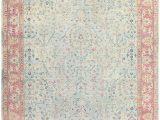 Citium Blue area Rug Antique Indian Carpet 46912 Carpets Wohnzimmer