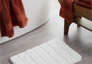 """Cloud Step Memory Foam Bath Rug Luxurious Plush Bath Mat 17"""" X 24"""" In 2020"""