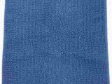Cobalt Blue Bath Rugs Amazon sonoma Reversible Blue Plush Pile Throw Rug