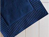 Cobalt Blue Bathroom Rugs Amazon Com Zenith Bath Mat Set Of 3 Color Cobalt Blue