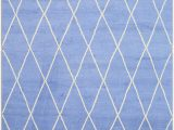 Cobalt Blue Rug 8×10 Amazon Eorc Sht22bl Hand Knotted Wool Trellis Moroccan