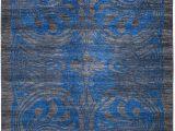 """Cobalt Blue Rug 8×10 Shalimar area Rug8 1"""" X 10 5"""""""