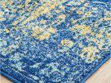 Cobalt Blue Runner Rug Radiance 411 Royal Blue Runner Rug
