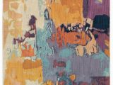 Contemporary area Rugs orange and Blue oriental Weavers Xanadu 70x area Rugs
