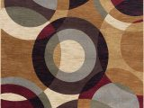 Contemporary Multi Color area Rugs Verona Contemporary Geometric Multi Color Rectangle area Rug 5 X 7