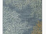 Coral and Grey area Rug Mohawk Homestratacoral Reef Rug