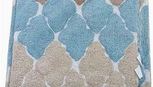 Cotton Bath Rugs with Latex Backing Amazon Bibb Home 2pc Bath Rug Set Cotton Latex