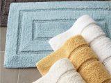 "Cotton Bathroom Rug Sets Kassatex Tufted Cotton Bath Rug 20"" X 32"""