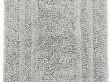 Cotton Bathroom Rugs Reversible Hotel Collection Cotton Reversible Bath Rug 21″ X 33″ Mercury New