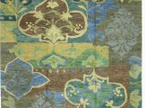 Country area Rugs 8 X 10 E Of A Kind Iberia Hand Knotted Farmhouse Country Green 8 X 10 Wool area Rug