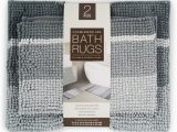 Country Living Bath Rugs town Country Living Cushioned Spa Bath Rugs 2 Ct Gray
