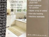 Country Living Bathroom Rugs Brand New town & Country Living Ombre Spa Bath Rug Brown