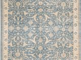Cream and Light Blue Rug Sultanabad oriental Hand Knotted Wool Light Blue Cream area Rug