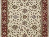 Cream and Red area Rugs Cf 3 Cream Burgundy Red