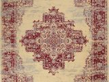 Cream and Red area Rugs Charlton Home Susan oriental Cream Red area Rug & Reviews