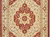 Cream and Red area Rugs Riverhead oriental Cream Red area Rug