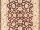 """Cream Color 8×10 area Rug E Of A Kind Ibanez Hand Knotted 2010s Ushak Brown Cream 8 X 10 2"""" Wool area Rug"""