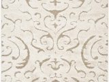 Cream Color 8×10 area Rug Safavieh Florida Shag Sg462 1113 Cream and Beige area Rug