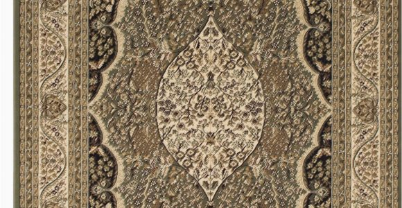 Cri Green Label Plus area Rugs Inouye High End Ultra Dense Floral Art Deco Sage Green area Rug