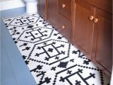 Custom Size Bathroom Rugs How to Sew Two Small Rugs to Her to Make A Custom Runner