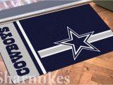 Dallas Cowboys Bath Rugs Dallas Cowboys 19×30 Bath Bedroom area Door Striped